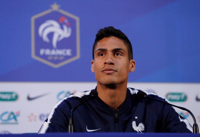 Raphaël Varane selección francesa Francia