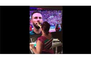 Un sueco imita la viral bendición mexicana y su selección gana con un marcador idéntico al de México