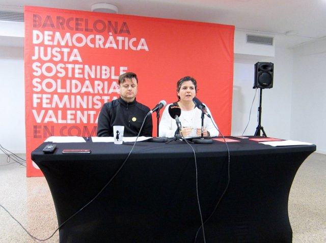 Enric Bárcena i Gala Pin