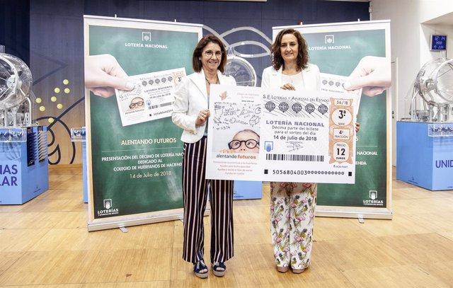 [Gruposociedad] Lotería Nacional Dedicará El Décimo Del 14 De Julio Al Colegio D