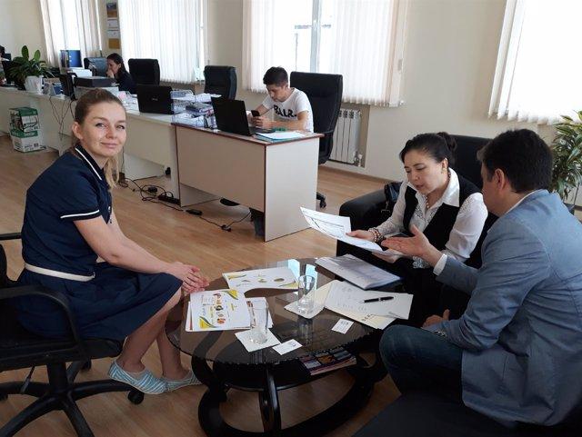 Empresas andaluzas agroalimentarias, en Kazajistan.