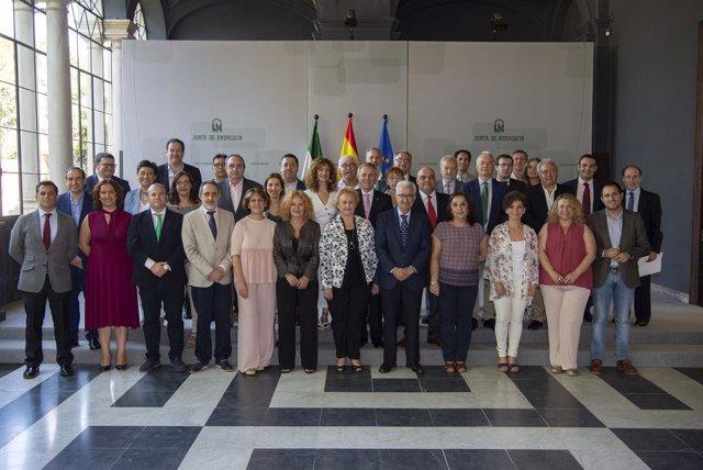 Pleno de las Comunidades Andaluzas en el Exterior