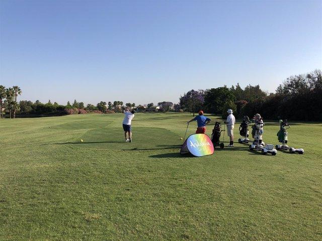 Práctica de Golf.