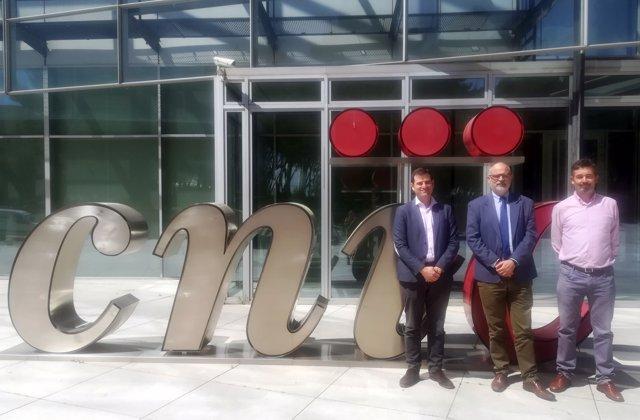 Firma de acuerdo entre Fibao y CNIC
