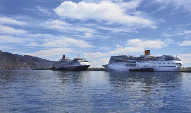 Puertos de Tenerife registra un 10% más de pasajeros hasta mayo y roza los 2,5 millones