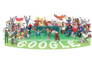 Google completa la lista de doodles en homenaje a los países del Mundial Rusia 2018