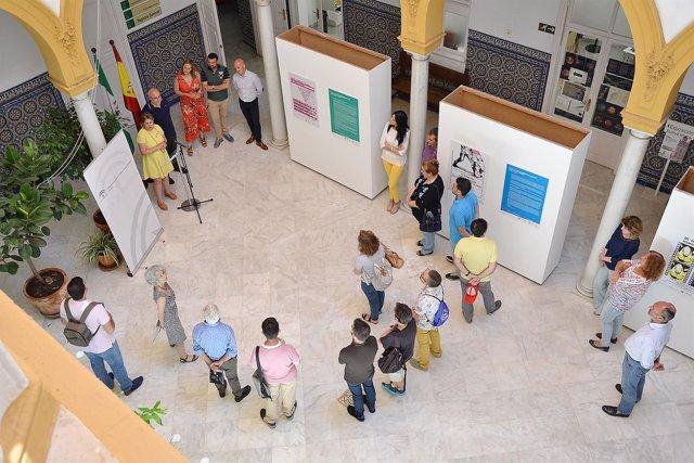 Muestra de carteles en la Delegación de Cultura