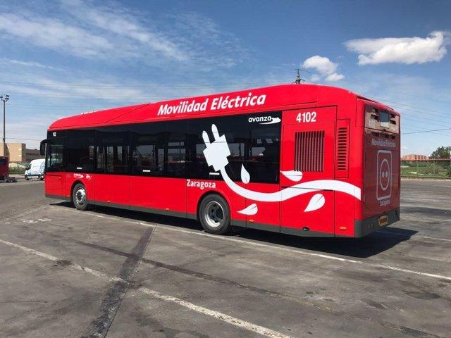 Nuevo modelo de autobús que comenzará a funcionar mañana en Zaragoza