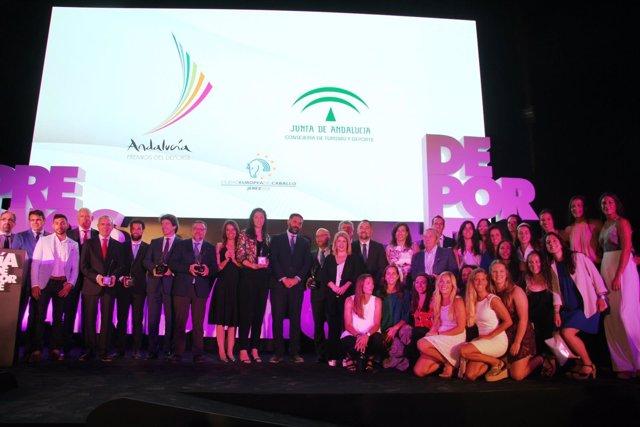Entrega de los premios Andalucía de los Deportes 2017