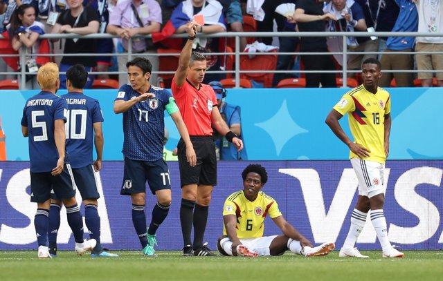 Soccer Football - World Cup - Group H - Colombia vs Japan - Mordovia Arena, Sara