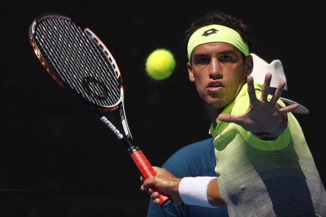 El tenista argentino Nicolas Kicker