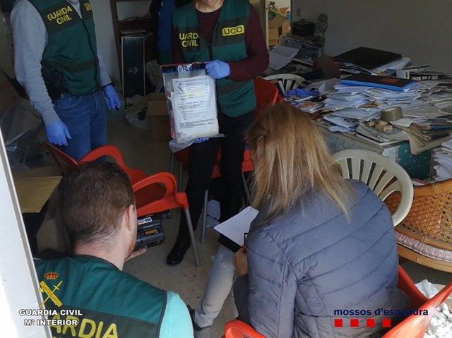 Operación contra la venta de material pedófilo.