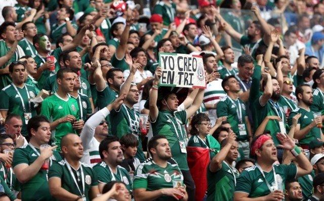 Afición de México en el Mundial de Rusia 2018