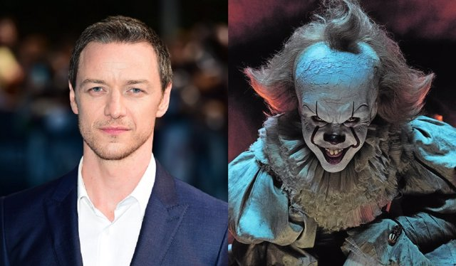James McAvoy y Bill Skarsgard