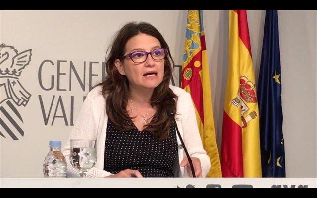Oltra sobre la reforma de finançament: 'El que valia per a Montoro val per a Montero'
