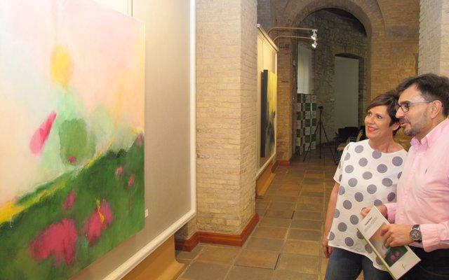 La sala de exposiciones de la Diputación acoge la muestra 'Jardines perdidos', de Soledad Flores