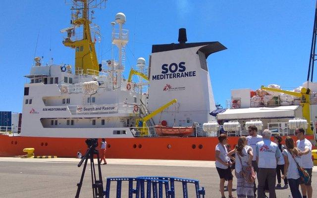 El 'Aquarius' parte de València rumbo a nuevas misiones de rescate en la costa libia