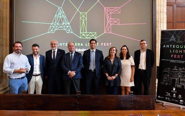 Antequera Light Fest celebra el segundo aniversario de la declaración de los Dólmenes como Patrimonio Mundial de Unesco