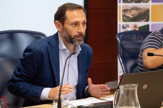Márquez, director de Urbanismo de la Consejería de Medio Ambiente y Ordenación