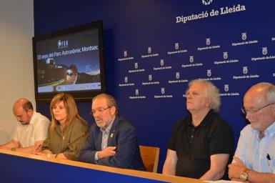 El Parc Astronòmic del Montsec genera un impacte anual de 2,5 milions al territori (EUROPA PRESS)