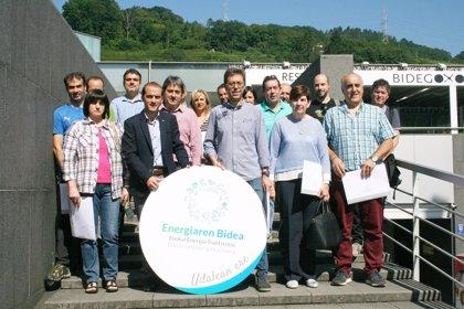 El EVE reconoce el compromiso de los ayuntamientos de Tolosaldea, Goierri y Urola Garaia con la transición energética