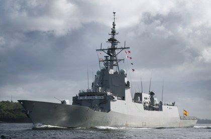 La fragata 'Cristóbal Colón' recibirá su Bandera de Combate el próximo día 1 de julio en el puerto