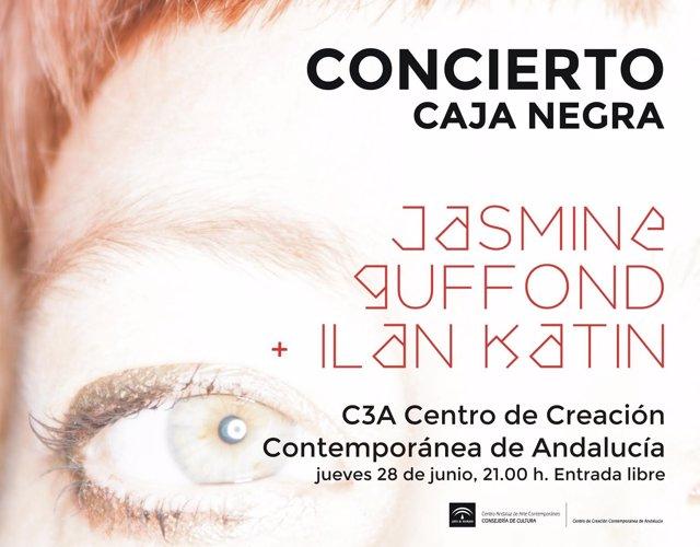 Cartel del concierto de Jasmine Guffond con Ilan Katin
