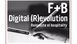 Cartel del programa F+B Digital (R)evolution, de Meliá