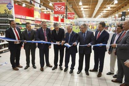 Carrefour inaugura nuevas instalaciones en Roquetas de Mar con gran representación de 'Sabores Almería'