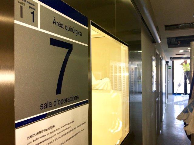 Siguen cerrados cinco quirófanos en Can Misses tras detectarse un hongo en puntos de salida de la ventilación