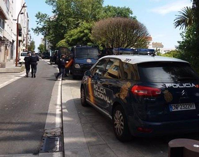 Dieciocho detenidos en un operativo contra el tráfico de drogas en A Coruña