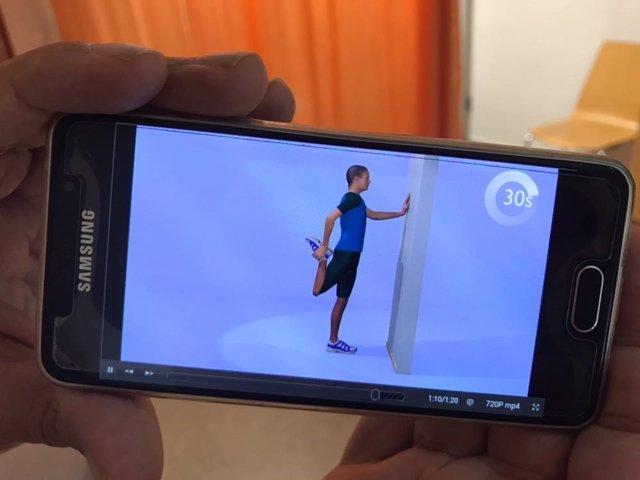 Aplicación Ejes 3D