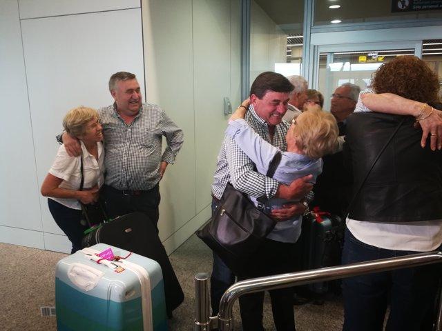 Casi 150 emigrantes en Latinoamérica vuelven a Galicia décadas después
