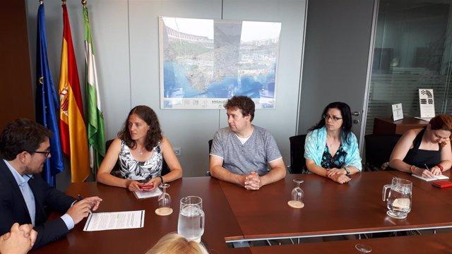 Una delegación checa visita las viviendas de la Junta de Andalucía