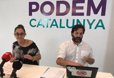 Laura Pérez, nova secretària general de Podem Barcelona amb el 50,4% de vots (EUROPA PRESS)