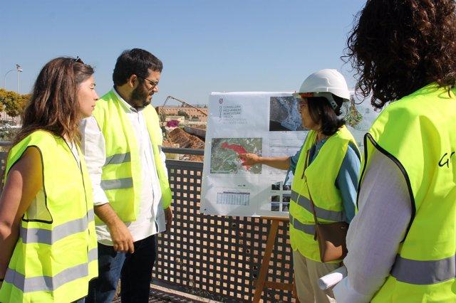 El Govern invierte 300.000 euros en reparar el torrente de na Bàrbara para evitar inundaciones en Sant Josep Obrer
