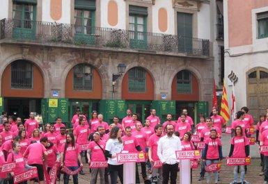 L'alcaldessa de Berga (Barcelona), inhabilitada 6 mesos per l'estelada de l'Ajuntament (Europa Press - Archivo)