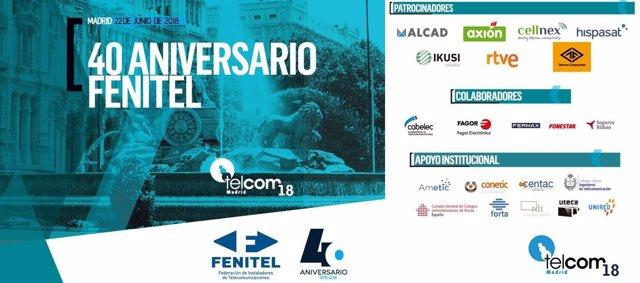 Congreso Telcom'18 - 40º aniversario de FENITEL