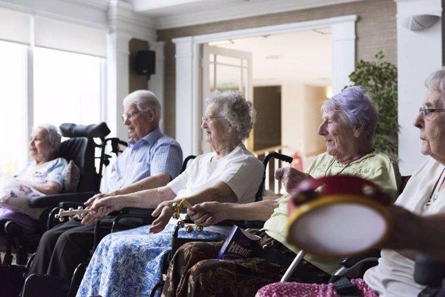Musicoterapia con mayores