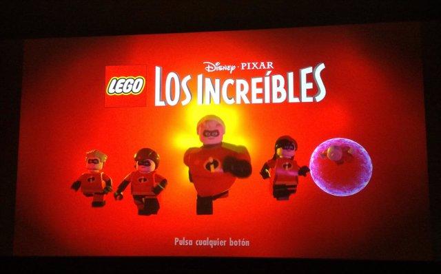Warner Bros ha presentado en Madrid el videojuego Lego Los  Increíbles
