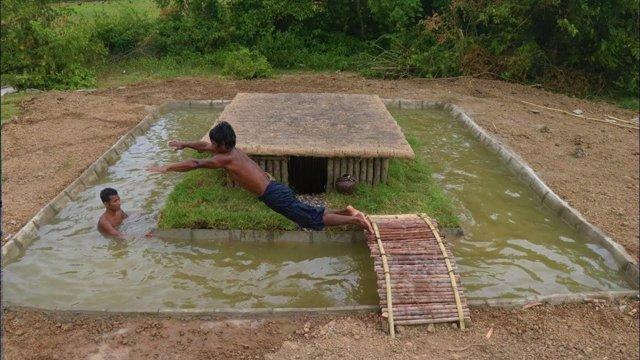 Para construir una piscina natural desde cero tan solo necesitas dos ...