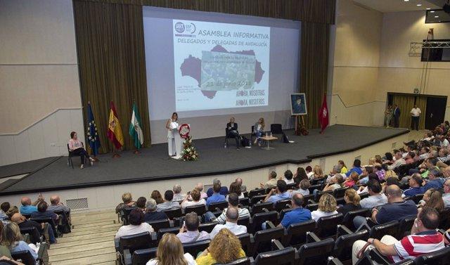 Asamblea de Federación de empleados públicos de UGT-A.