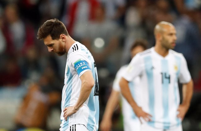 Argentina - Croacia, Messi y Mascherano