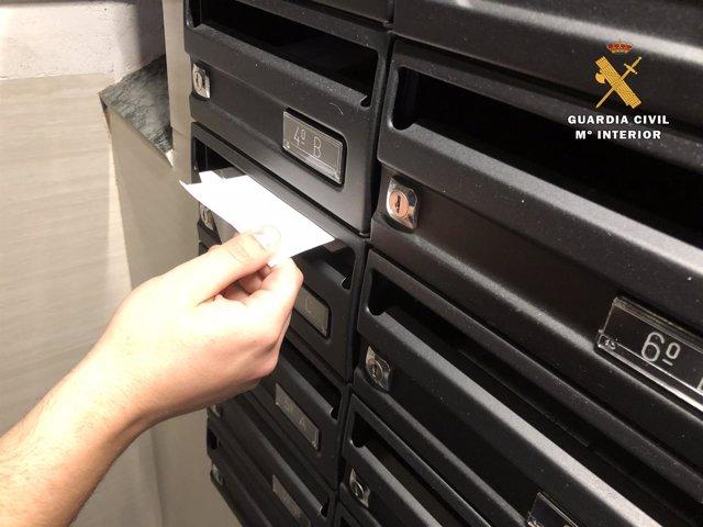 Detenidos por sustraer cartas de buzones en Haro