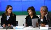 Foto: Cospedal resta importancia a la valoración de Santamaría en las encuestas y recuerda que ella ha ganado elecciones
