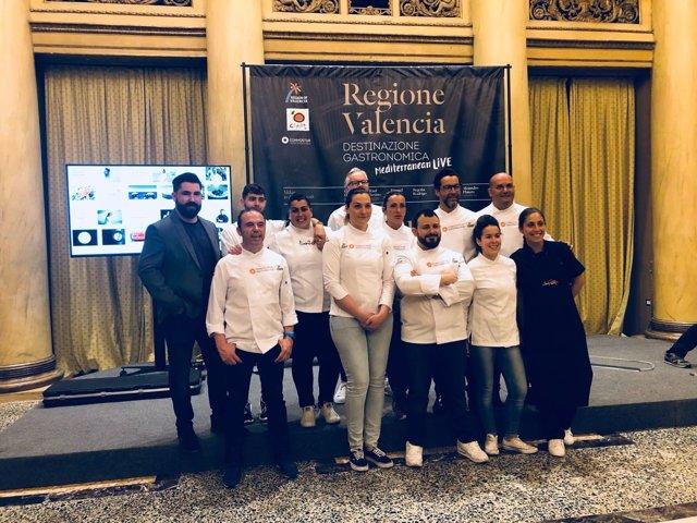 ÛUna experiencia gastronómica 5 estrellas' en Milán