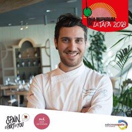El chef valenciano Pablo Ministro