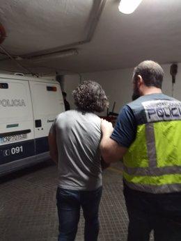 Detención ciudadano buscado en Armenia