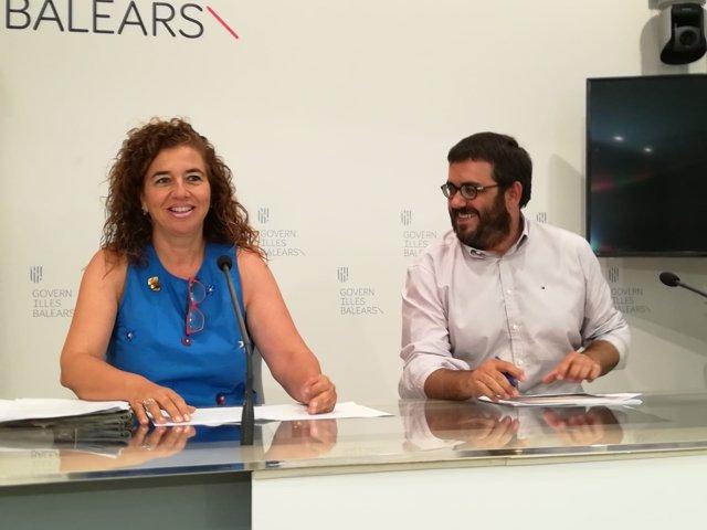 Consell de Govern, Pilar Costa y Vicenç Vidal