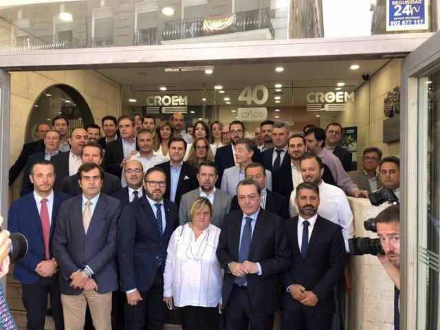 Empresarios unidos para la llegada del AVE